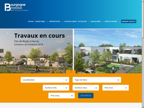 Cr er un site internet r f rencement et indexation de for Habitat dijon