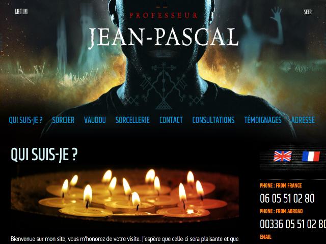 Jean Pascal Sorcier Vaudou Et Marabout Africain Paris